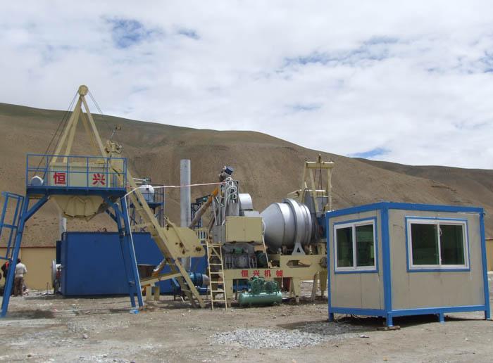 沥青拌合站设备案例