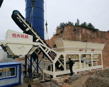 HZS商品混凝土搅拌站设备